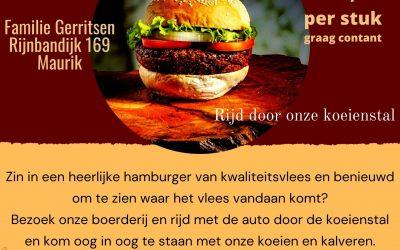 Terugblik Hamburger drive-in door onze stal